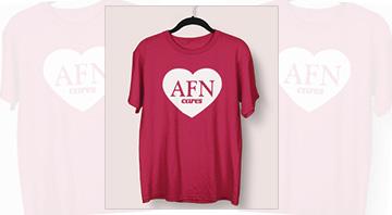 AFN Cares Shirt